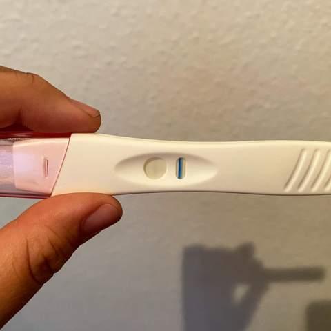 Schwangerschaftstest Zweiter Strich Blass