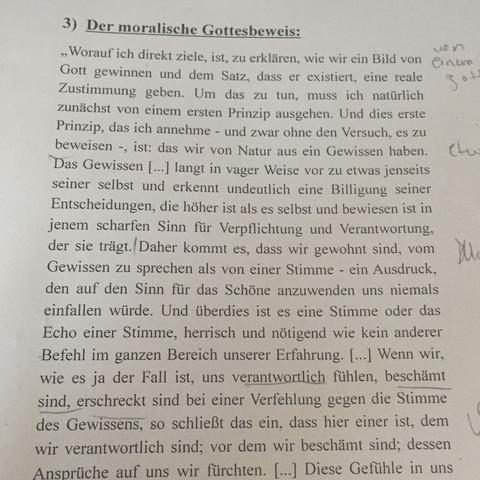 text nr 1  - (Religion, Ethik, katholisch)