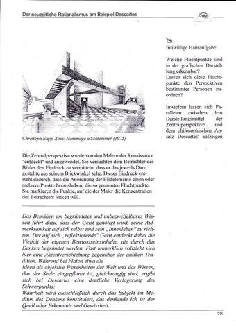 Der neuzeitliche Rationalismus am Beispiel Descartes (Philosophie ...