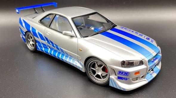 Der Nissan Skyline aus 2Fast 2 Furious was kostet dieser...... aktuelle Zahl?