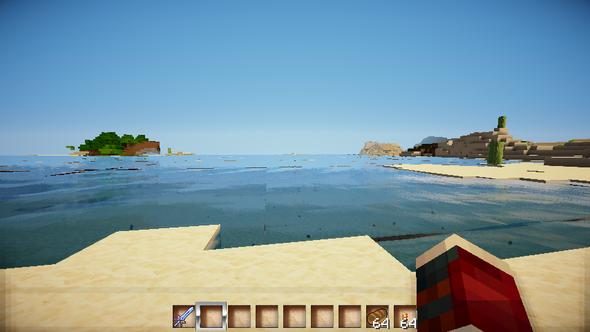 Das Wasser - (Minecraft, shader, Rudoplays)