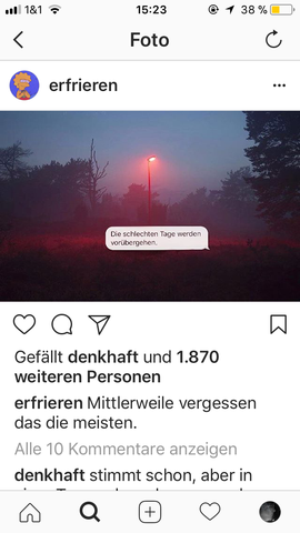 Instagram. Wie ...