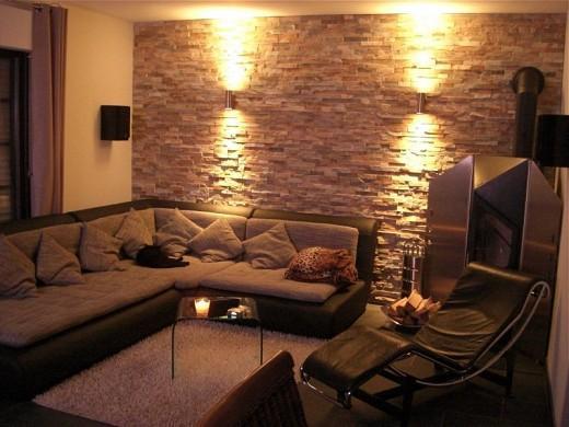 design wohnung w nde wie eine steinmauer aussehen lassen 3d optik nur wie handwerker. Black Bedroom Furniture Sets. Home Design Ideas