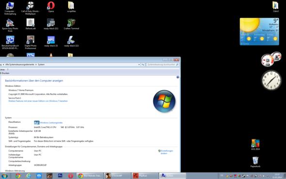 Desktop Hintergrund Ist Schwarz Windows 7 (Schwarzer