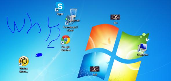 Icons spinnen - (PC, Desktop, Icon)
