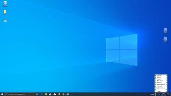 Desktop Symbol sehen komisch aus?
