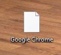 Desktopsymbole = Blatt Papier?