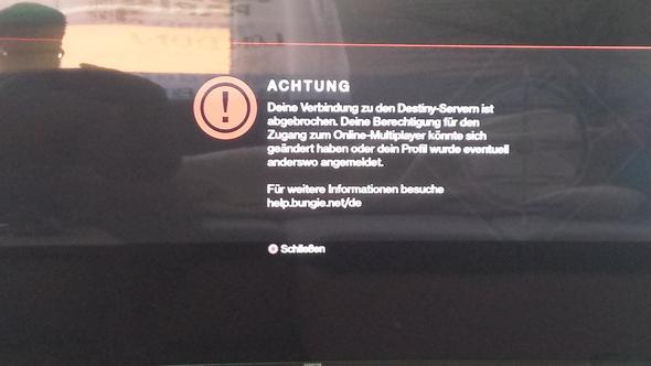 Problem Meldung  - (PS4, Playstation 4, anmelden)