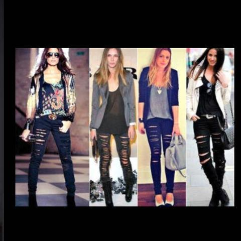 Destroyed Jeans erweitern?