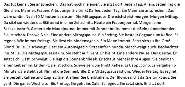 Geschichte schreiben deutsch deutsch 3 klasse aufsatz personenbeschreibung