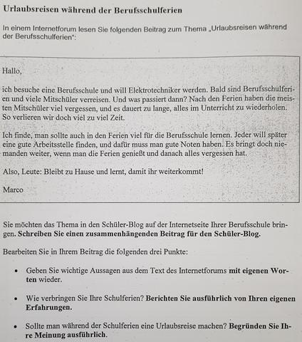 Deutsch Thema Zusammenfassen Zusammenfassung