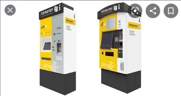 Deutsche Bahn  Ticketautomat?