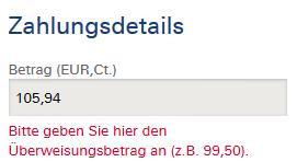 Hier mal der Screenshot - (Bank, Überweisung, Online-Banking)