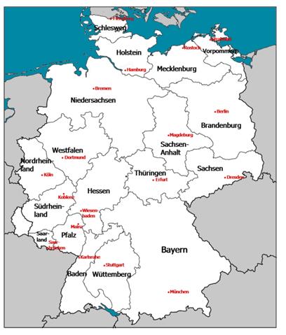 Deutsche Bundesländer mehr an Geographie anpassen?