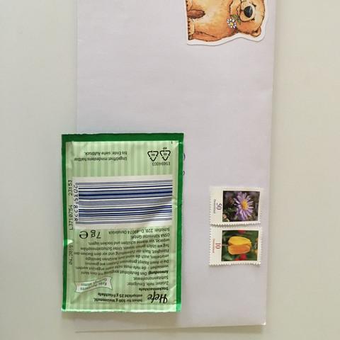 Deutsche Post Frage Porto Marken Brief