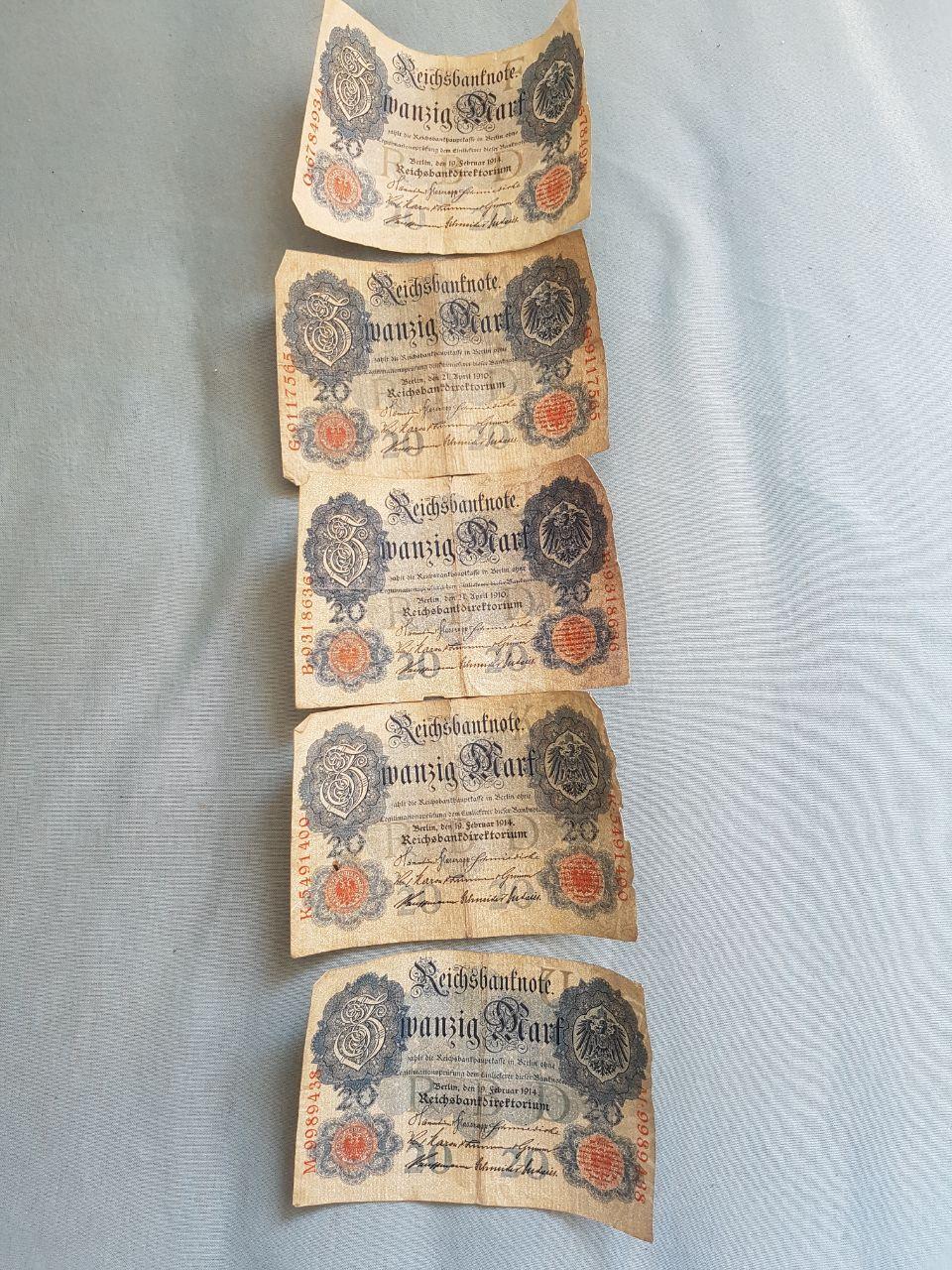 Deutsche Reichsmark 1914 Wert? (Deutschland)