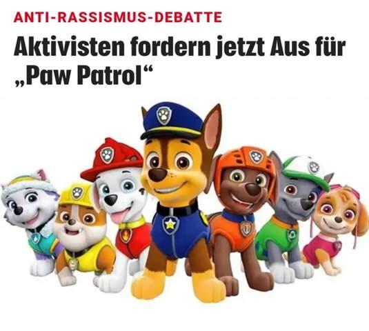 Deutscher Schäfer Polizeihund zu wenig rassistisch?