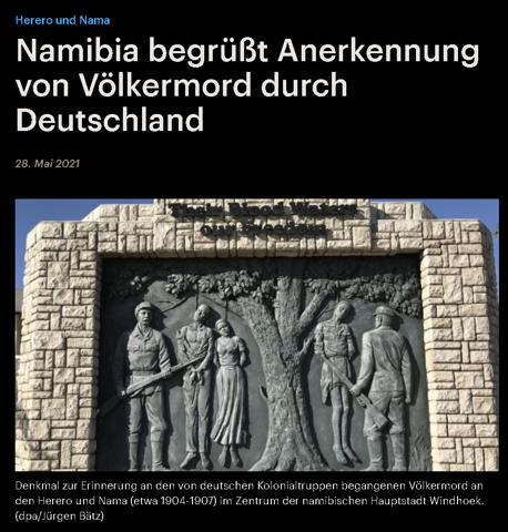 Deutschland hat heute nach ca. 115! Jahren den Völkermord in Namibia (Deutsch Süd-West) an Nama und Herero anerkannt! Wie seht ihr das?