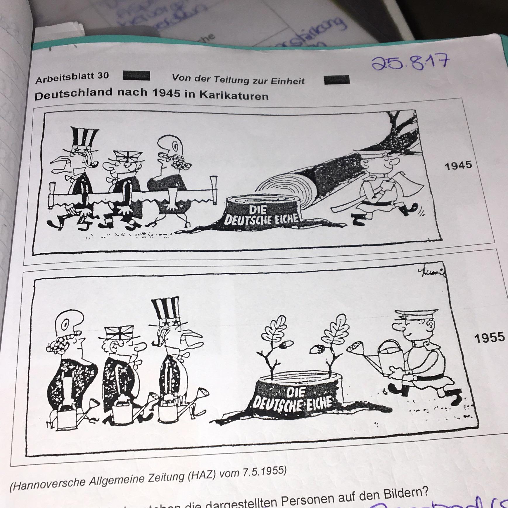 deutschland nach 1945 karikatur beschreiben hilfe geschichte. Black Bedroom Furniture Sets. Home Design Ideas
