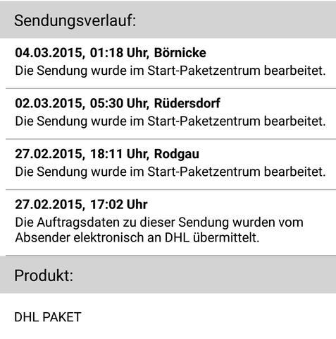 DHL Paket landet mehrmals in Startpaket Zentren , warum?