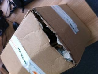 Paketbild 2 - (Versand, Paket, DHL)