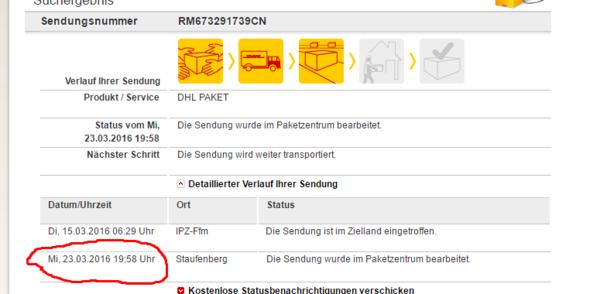 DHL - (Paket, DHL)