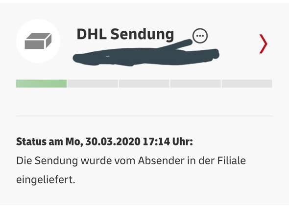 - (Post, Paket, Versand)