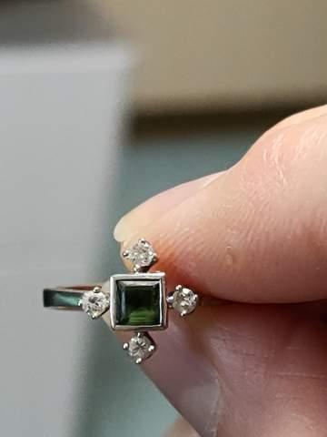 Diamantring, welcher Stein?