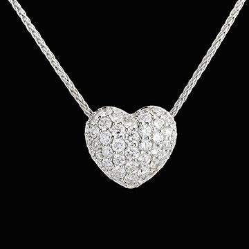 Diamantcollier Herz Monica - (Online-Shop, Schmuck, diamanten)