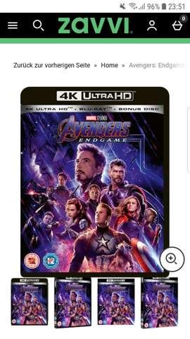 Die 4K Ultra HD Blurays kann man die auf der PS4 abspielen?