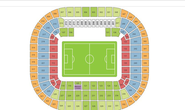 Sitzplätze  - (Sport, Fußball, Ticket)