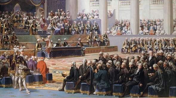Die Eröffnung der Generalstände in Versailles am 5. Mai 1789 - August Couder?
