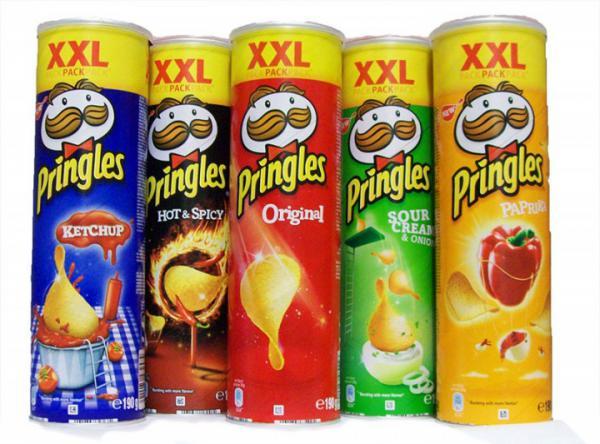 Pringels Sorten