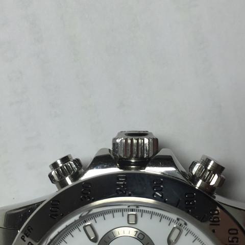Krone außerhalb des Gehäuses - (Uhr, Armbanduhr, Krone)