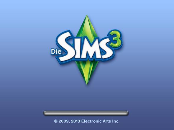Ladebalken bleibt Leer - (PC-Spiele, PC-Games, Sims 3)