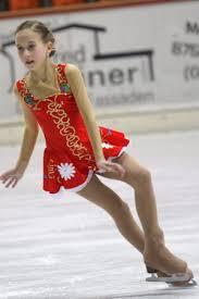 hautfarbene Strumpfhosen - (Sport, Mädchen, Eiskunstlauf)