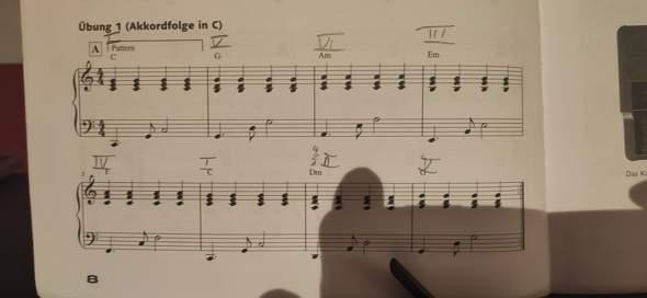 Diese Akkordfolge in G Dur?