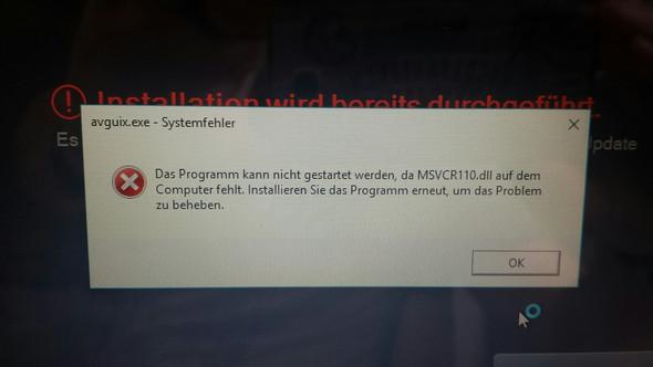Fehlermeldung - (PC, Windows 10)