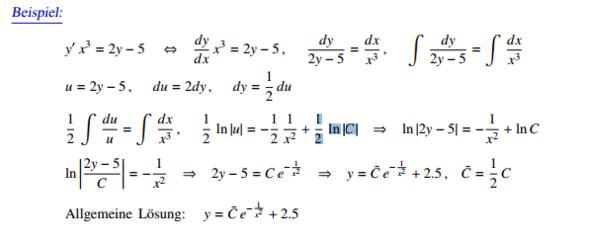Aufgabenstellung - (Mathematik, Differntialgleichung)
