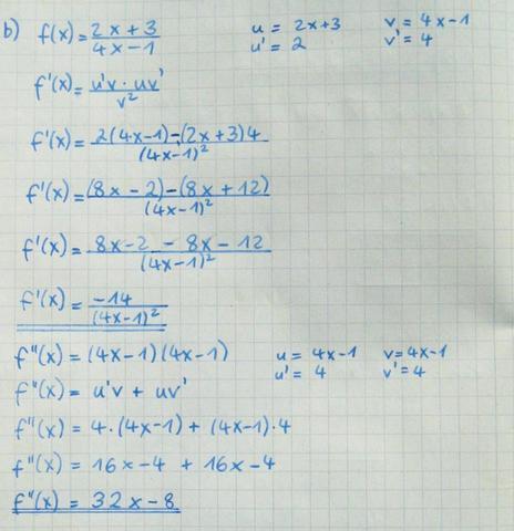 Die 1. Aufgabe (mein Ergebnis) - (Mathe, Mathematik, Rechnen)