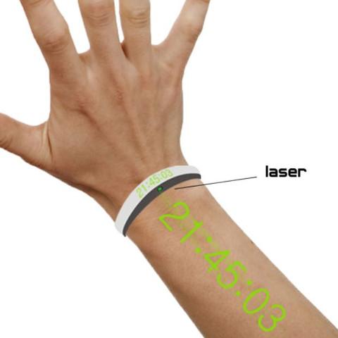"""Das Foto hab ich bei Instagram gesehen da stand nur """"Digitale Laser Uhr"""" - (Schmuck, Uhr, Laseruhr)"""