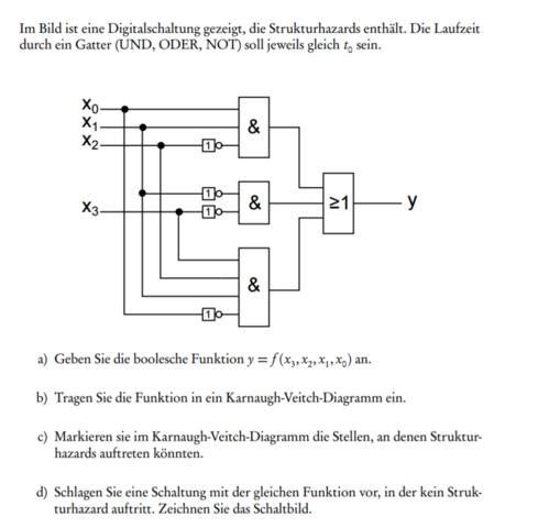 Problemaufgabe - (Technik, Digitaltechnik)