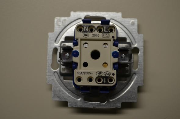 Dimmer Taster anschließen (Technik, Elektronik, Strom)