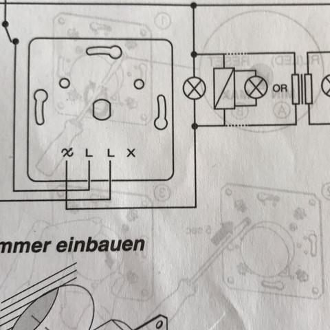 Schaltplan - (Elektrik, dimmer)
