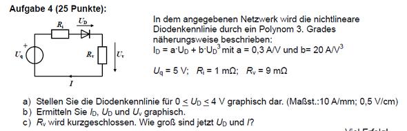 Aufgabe - (Physik, Elektrotechnik)