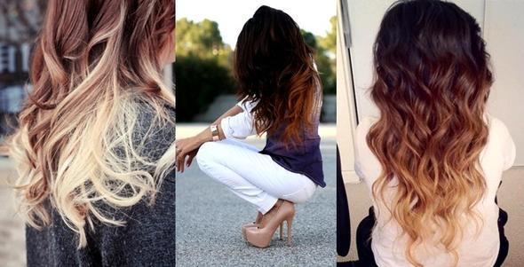 Haare Oben Braun Spitzen Blond Haarschnitte Beliebt In Europa