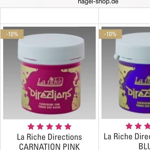 La Riche directions pink  - (Haare, Directions, Ombre)