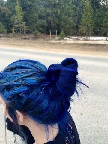 Directions Haartonung Blau Tipps Haarfarbe