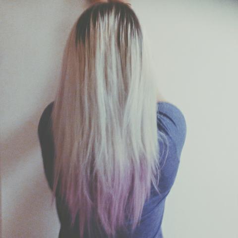 die farbe ☝ - (lavendel, directions tönen)