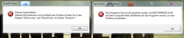 Fehlermeldungen - (Computer, PC, Gaming)